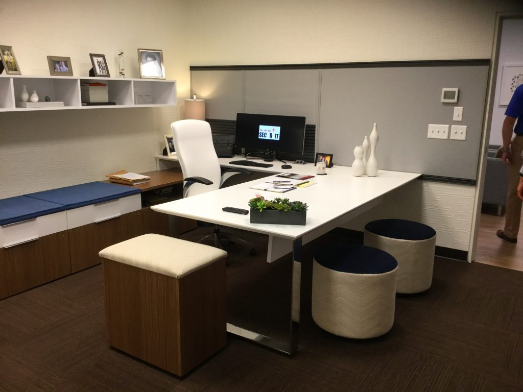 office cubicles ergonomic seating desks high density shelving height